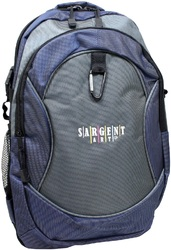 "Case of [24] 17"" Premium Backpack - Black/Navy"