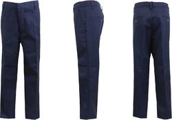 Case of [24] Men's Navy Flat Front Pants - Size 32