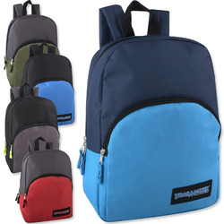 """Case of [24] 15"""" Classic Backpack - 5 Colors"""