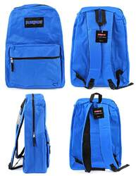 """Case of [12] 15"""" PureSport Classic Backpack - Blue"""