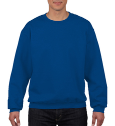 Case of [12] Gildan First Quality Crewneck SweatShirt - Royal - Size XL