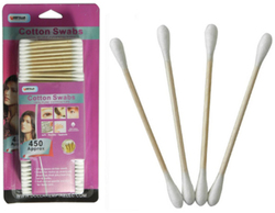 Case of [72] Cotton Swabs - 450 Count