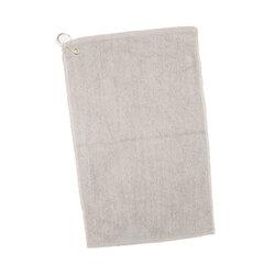 Case of [144] Grommet Velour Hemmed Hand/Golf Towel - Natural