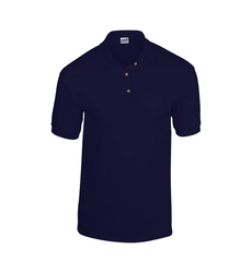 Case of [12] Gildan Irregular Polo Shirts - Navy - Medium