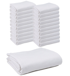 "Case of [20] Snagless Thermal Blanket 66"" x 90"" - White"