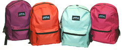 """Case of [24] 17"""" Arctic Star Classic Backpack - 4 Assorted Colors"""