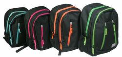 "Case of [12] 18"" Arctic Star Premium Metro Backpack - 4 Assorted Colors"