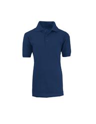 Case of [36] Adult School Navy Uniform Short Sleeve Polo Shirts - Size M-XXL