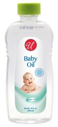 Case of [48] BABY OIL WITH ALOE VERA - 10 OZ