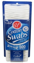 Case of [96] COTTON SWABS IN BLISTER PACK