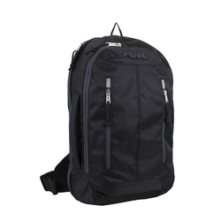 "Case of [12] 18"" Fuel Premium Crossbody Backpack - Black"