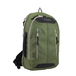 "Case of [12] 18"" Fuel Premium Crossbody Backpack - Hunter Green"