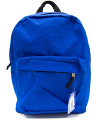 "Case of [12] 15"" Basic Backpack - Blue"