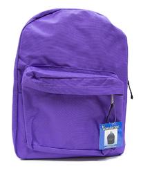 "Case of [12] 15"" Basic Backpack - Purple"