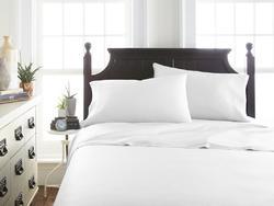 Case of [12] FullPremium Bamboo 4 Piece Luxury Bed Sheet Set - White