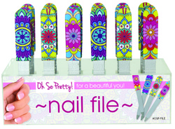 Case of [48] Oh So Pretty! Nail File - Display included