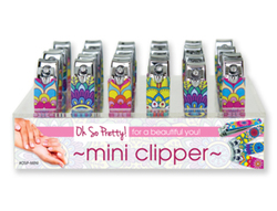 Case of [48] Oh So Pretty! Mini Nail Clippers - Display included