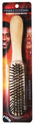 Case of [48] Firm Wooden Narrow Boar Hair Brush