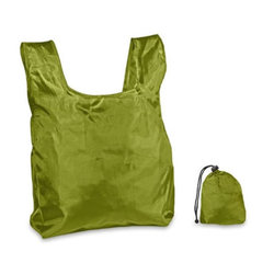Category: Dropship Travel & Bags, SKU #2318611, Title: Case of [250] Shopping Bag with Drawstring Closure-Moss