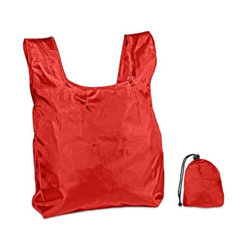 Category: Dropship Travel & Bags, SKU #2318612, Title: Case of [250] Shopping Bag with Drawstring Closure-Red