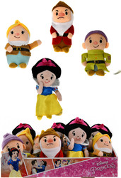"""Case of [60] 6""""Just Play Snow White Stylized Bean Plush Toy - Assorted"""