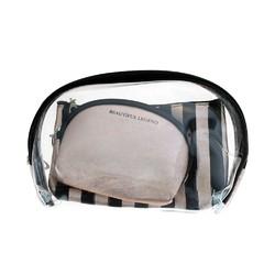 Case of [24] Moda West Cosmetic Bag Set - 3 Piece