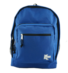 "Case of [24] 17"" Classic Multi-Pocket Backpacks - Royal Blue"