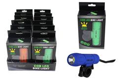 Case of [12] Cob LED Bike Light In Gift Box