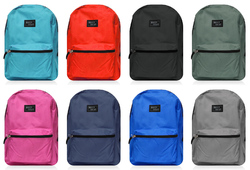 """Case of [24] 16"""" Maxx Gear Basic Backpack - 8 Assorted Colors"""