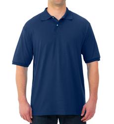 Case of [12] Jerzees Irregular Polo Shirts - Navy - Large