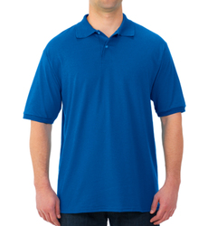 Case of [12] Jerzees Irregular Polo Shirts - Royal Blue - XL
