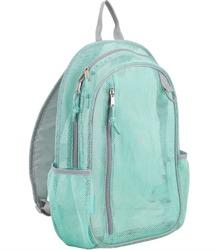 "Case of [12] 17"" Eastsport Classic Metro Mesh Backpack - Mint"