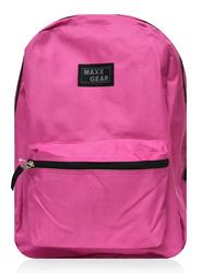 "Case of [24] 18"" Maxx Gear Basic Backpack - Fuchsia"
