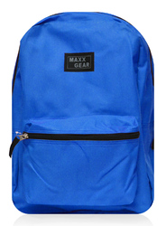 "Case of [24] 18"" Maxx Gear Basic Backpack - Royal Blue"