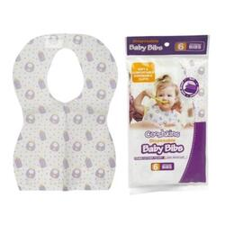 Case of [72] Cooshkins Disposable Baby Bibs