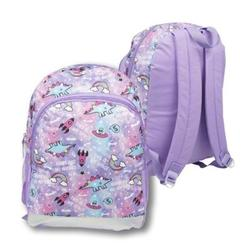 "Case of [24] 16"" Classic Print Backpack - Purple Spaceship"
