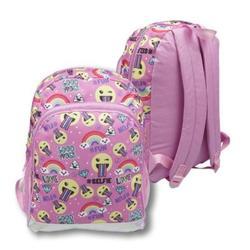 """Case of [24] 16"""" Classic Printed Backpack - Emoji"""
