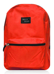 "Case of [24] 16"" Maxx Gear Basic Backpack - Red"