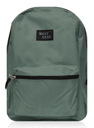 """Case of [24] 16"""" Maxx Gear Basic Backpack - Green"""