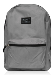 "Case of [24] 16"" Maxx Gear Basic Backpack - Grey"