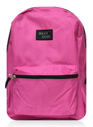 """Case of [24] 16"""" Maxx Gear Basic Backpack - Pink"""