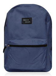 "Case of [24] 16"" Maxx Gear Basic Backpack - Navy"