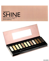 Case of [48] Style Essentials The Buff Shine Eyeshadow Palette - 12 Shades