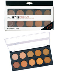 Case of [48] Style Essentials Pro Artist Bronzer Palette - 10 Shades, Matte