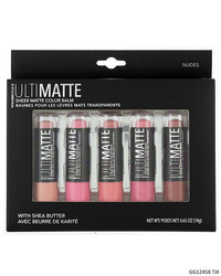 Case of [48] Style Essentials Ultimatte Pink Sheer Matte Lip Balm - 5 Balms