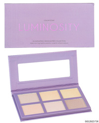 Case of [48] Color Story Luminosity Highlighter Palette - 6 Shades