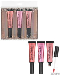 Case of [48] Color Story High Shine Metallic Lip Glaze - 3 Tubes