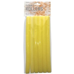 Case of [72] Bonita Home Flexible Hair Rollers - 6 Count