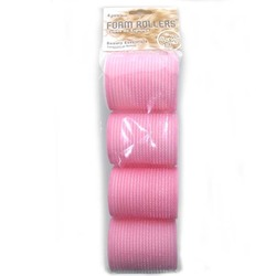 Case of [72] Bonita Home Foam Hair Rollers - 4 Count