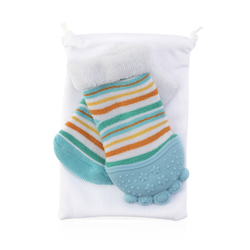 Case of [16] Multi Stripes Nuby Soothing Teether Sock